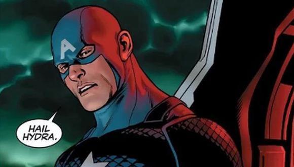 Capitán América remece Twitter tras último cómic ¿Es de Hydra?