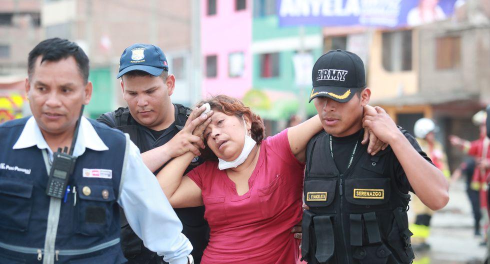 El gerente del Hospital Nacional Guillermo Almenara, Jorge Enrique Amoros, detalló que esta tarde perdió la vida un menor de tres años y en la noche falleció una mujer de 52 años. (Foto: GEC)