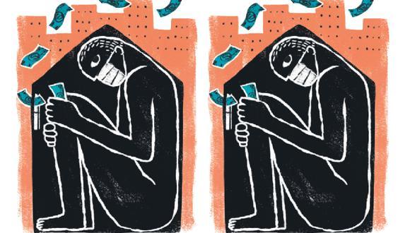 ¿Por qué el mercado se ve atado de manos frente al avance de la pandemia? (Ilustración: Víctor Aguilar)
