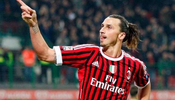 Zlatan Ibrahimovic anotó diez goles con el AC Milan durante la temporada 2019-2020. (Foto: EFE)