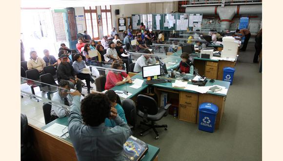 El Congreso aprobó prohibir los contratos de locación de servicios en entidades públicas. (FOTO: GEC)