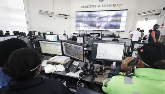 """Bajo el nuevo enfoque de """"seguridad humana"""", San Borja ha articulado su trabajo para hacer frente, entre otras cosas, a la delincuencia, los accidentes y ahora también al coronavirus. (Foto: César Campos/ EL Comercio)"""