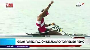 Juegos Olímpicos: Así fue la gran participación de Álvaro Torres en remo