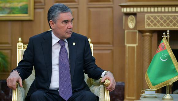 Berdimujamédov, el dentista convertido en presidente de Turkemistán. (Foto: AFP)