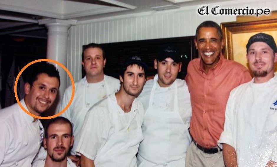Obama felicitó a chef peruano