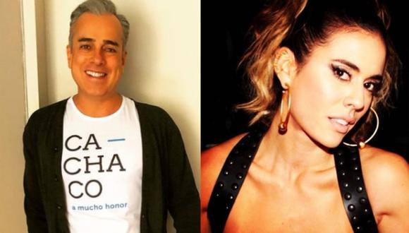 """Jorge Enrique Abello conversó con Carolina Ramírez en su programa de Instagram, """"Night-Night""""  (Foto: Composición / Instagram)"""