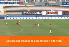 Universitario vs. Sport Huancayo: Alberto Quintero anotó el 3-1 para los 'cremas'  VIDEO