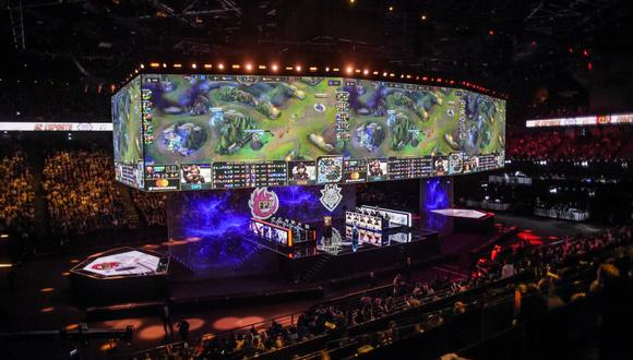 Los principales torneos de eSports del mundo pueden llenar estadios completos con miles de fanáticos. (Foto: AFP/Referencial)