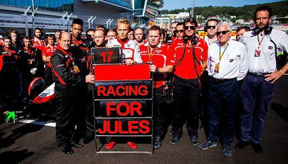 F1: escudería Marussia negó haber exigido a Bianchi que acelere