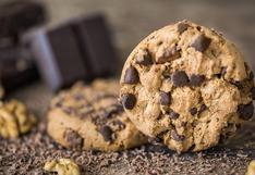 Receta de galletas con chocochips