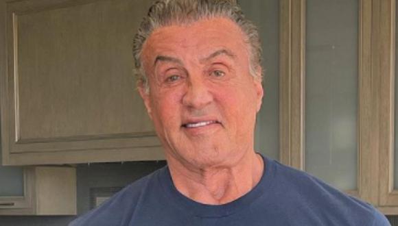 Sylvester Stallone fue el protagonista en la saga Rocky (Foto: Sylvester Stallone / Instagram)