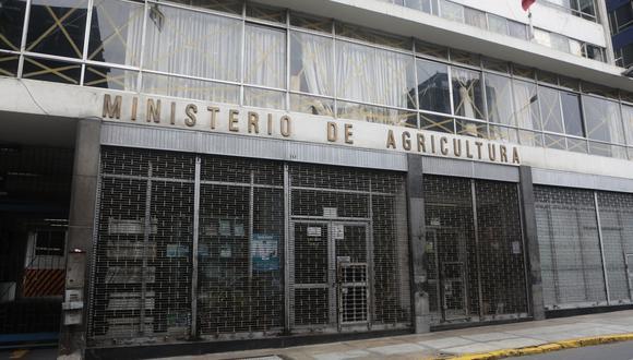 El Ministerio de Desarrollo Agrario y Riego (Midagri). (Foto: Diana Chávez | GEC)