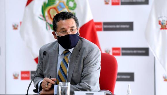 Ministro del Interior, Rubén Vargas, podría ser sometido a una interpelación (Foto: Mininter)