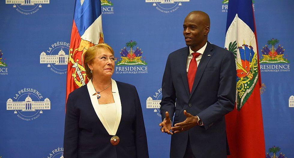 Bachelet visita Haití y aborda la crisis migratoria [FOTOS] - 4