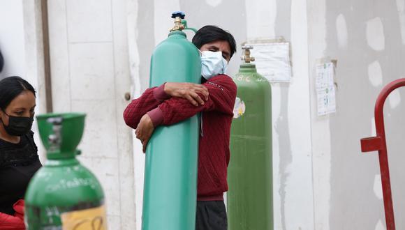 """""""Debe hacerse lo mismo con el oxígeno, y con mayor urgencia"""". (Foto: Fernando Sangama / @photo.gec)"""