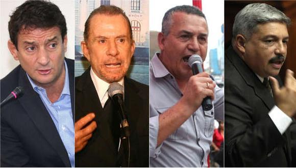Los principales candidatos a la alcaldía de Lima y su estrecha relación con el fútbol peruano. (Foto: USI)