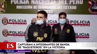 La Victoria: PNP capturó a balazos a banda dedicada al raqueteo