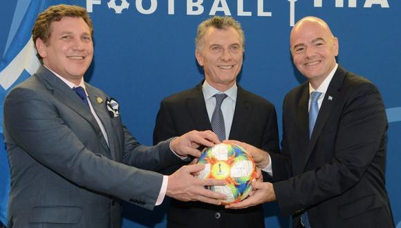 Mauricio Macri preside la Fundación FIFA desde hace ya algunos meses. (Foto: AFP)