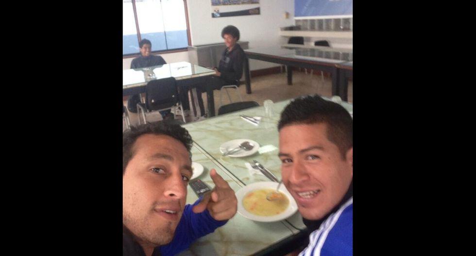 De Ruidíaz a Pizarro: los 'selfies' de los jugadores peruanos - 9