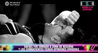 EEG: Rafael Cardozo fue enviado a zona de reserva y compañeros opinan