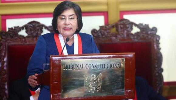 Marianella Ledesma se mostró en contra de que este lunes se realice la juramentación de los miembros de la JNJ. (Foto: GEC)