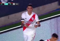 River Plate vs. Estudiantes: gol de Matías Suárez para el 1-0 del 'Millonario' | VIDEO
