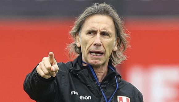 Ricardo Gareca descartó a Santiago Ormeño para el Perú vs. Brasil de este jueves. (Foto: AFP)