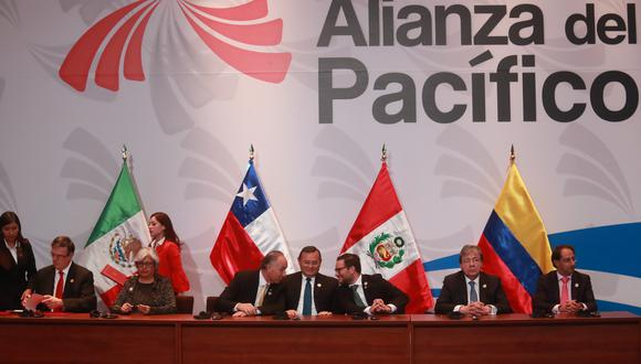 La reunión de ministros de Comercio de la Alianza del Pacífico fue convocada por el ministro de Comercio, Industria y Turismo de Colombia, José Restrepo. (Foto: GEC)