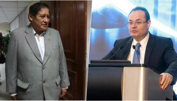 Juan Pari (Perú Libre) y Luis Carranza (Fuerza Popular) expusieron en el segundo bloque temático del debate técnico organizado por el JNE. (Foto: Archivo El Comercio)