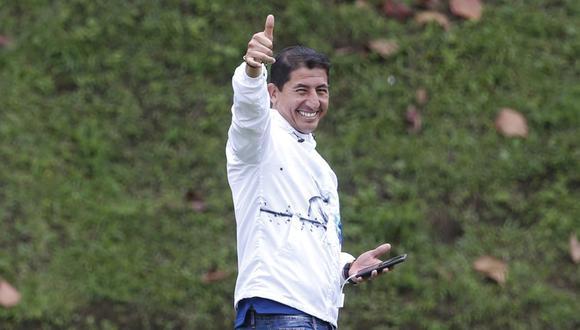 Johan estuvo en los entrenamientos de Perú en el último Preolímpico, en Armenia. (Foto: Violeta Ayasta / GEC)