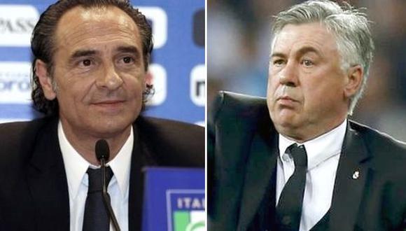 """Técnico de Italia: """"El fútbol de Ancelotti es inspirador"""""""