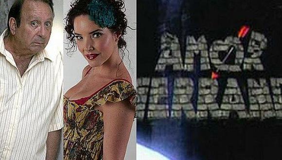 """Tulio Loza y Virna Flores protagonizaron """"Amor Serrano"""", el éxito televisivo de fines de los años 90. (Foto: Captura de pantalla)"""