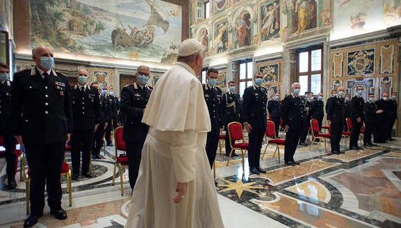 El Vaticano confirma un caso de coronavirus en la residencia del papa Francisco. (EFE/EPA/VATICAN MEDIA).