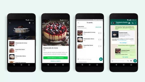El carrito de compras de WhatsApp ya ha sido habilitado en todo el mundo. (Foto: WhatsApp Blog)