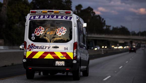 En Los Ángeles se está armando un hospital de campaña en la que iba a ser la sede del E3. (Foto: EFE)