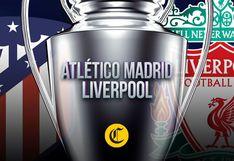 Atlético de Madrid vs. Liverpool, por Champions League: ¿a qué hora y qué canal de TV transmitirá el partido?