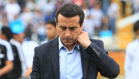 Alianza Lima: Guillermo Sanguinetti lamentó salida de Ibáñez