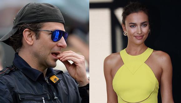 Irina Shayk y Bradley Cooper viven su amor en la playa