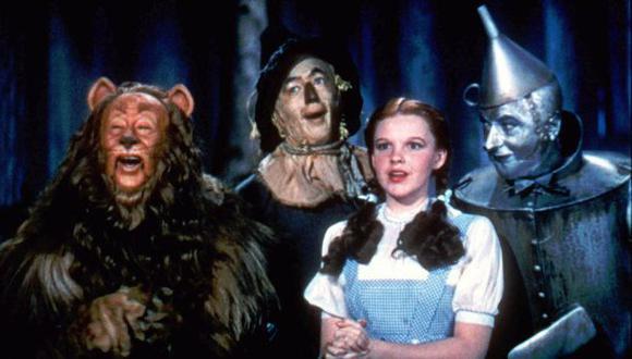 """""""El Mago de Oz"""", filme que sigue conmoviendo después de 75 años"""