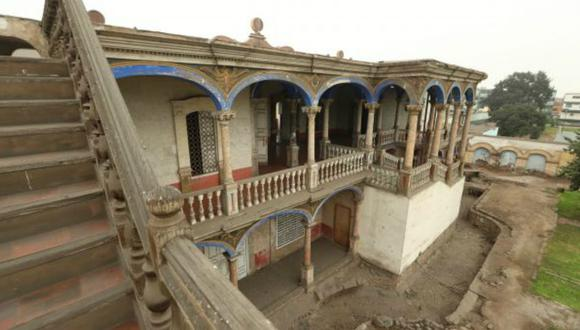 La Quinta Presa, ubicada en el Rímac, es una de las pocas propiedades declaradas patrimonio cultural que cuenta con un proyecto de recuperación. (Foto: Alessandro Currarino)