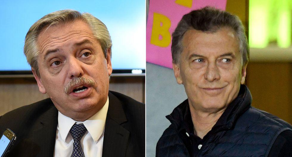 Alberto Fernández sacó una importante ventaja a Mauricio Macri, según sondeos de las elecciones presidenciales en Argentina. (Foto: AFP)