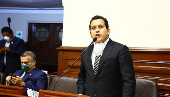 Congresista José Luna podría ser investigado por la Comisión de Etica (Foto: Congreso)