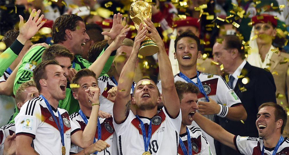 Alemania ganó su cuarta Copa del Mundo en el Mundial Brasil 2014. El gol fue de Mario Götze (Foto: AFP).
