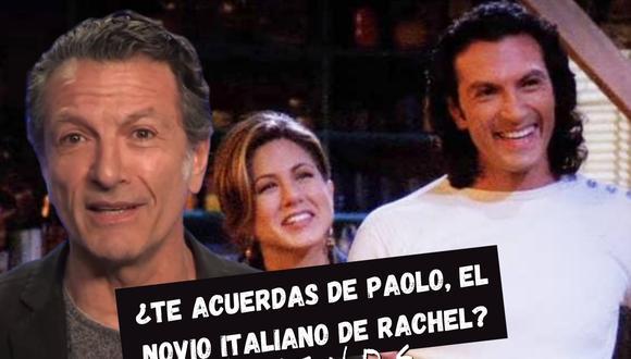 Cosimo Fusco interpretó a Paolo en cuatro episodios de la primera temporada de Friends y pasó a convertirse en uno de los personajes secundarios más recordados por los seguidores de la famosa sitcom. | Crédito: TODAY Show/NBC/Composición.