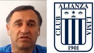 Alianza Lima: Carlos Bustos se ilusiona con blanquiazules
