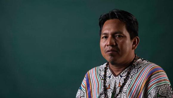 Miguel Guimaraes es el presidente de la Federación de Comunidades Nativas de Ucayali (FECONAU).