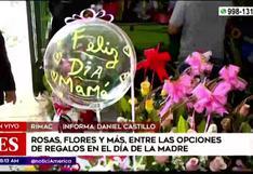 Gran afluencia de personas llega al Mercado de Flores a pocas horas del Día de la Madre