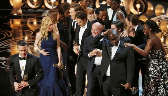 """Oscar 2014: """"12 años de esclavitud"""" es la Mejor Película"""