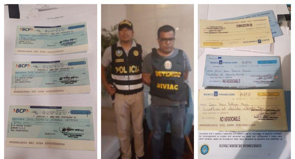 Los detenidos están implicados en los delitos de crimen organizado, violación del secreto de las comunicaciones, estafa y contra la paz y la fe pública. (Foto: PNP)
