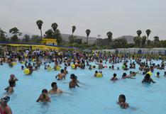 COVID-19: Gobierno prohíbe el uso de las piscinas de parques zonales y centros de esparcimiento
